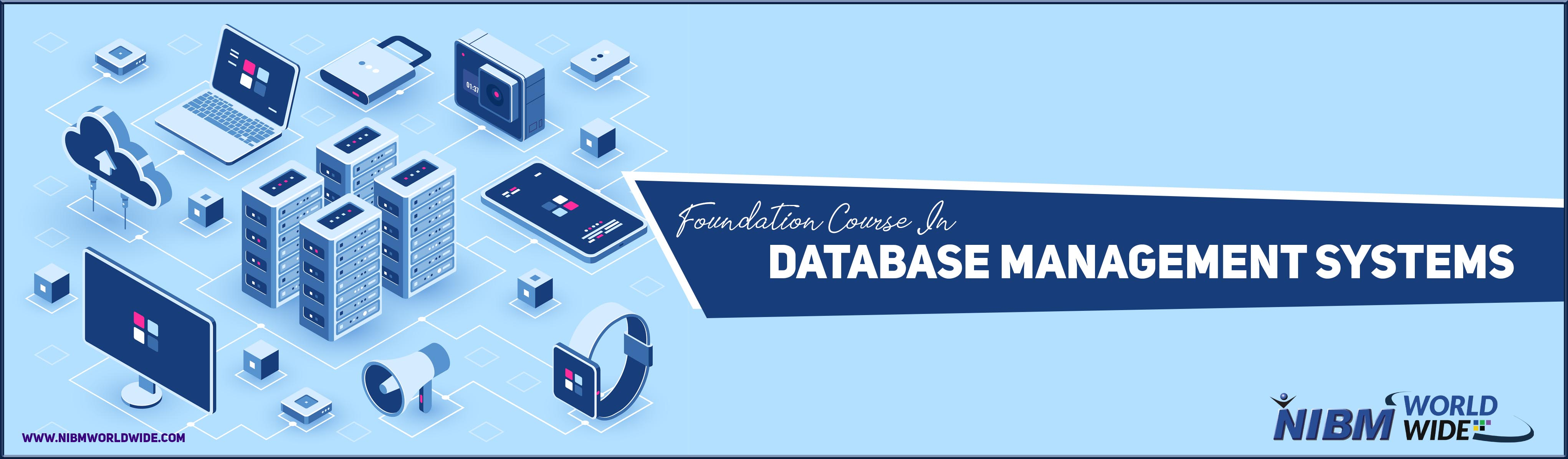 Foundation Course in<br/><br/>Database Management System